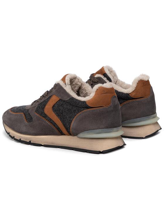 Voile Blanche Voile Blanche Sneakersy Liam Race Fur 0012014155.01.1B63 Šedá