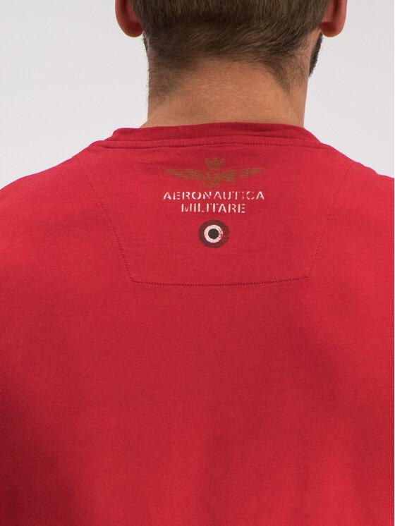 Aeronautica Militare Aeronautica Militare T-Shirt 191TS1627J372 Κόκκινο Regular Fit