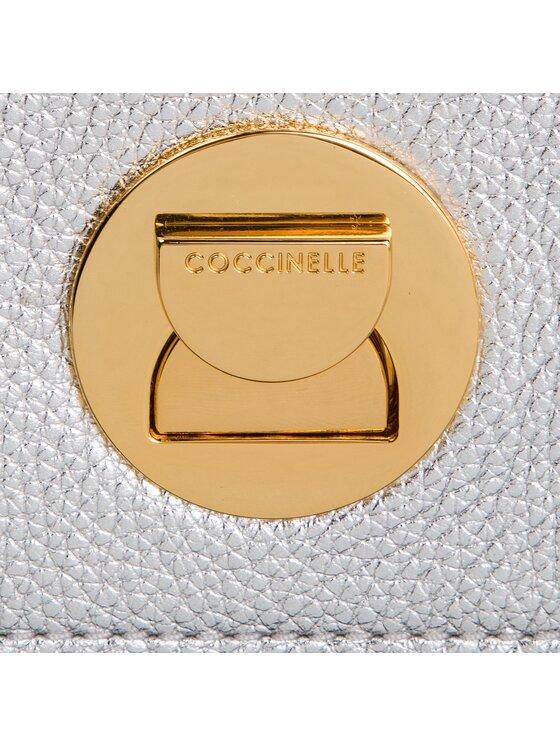 Coccinelle Coccinelle Torebka DD0 Liya E1 DD0 12 03 01 Srebrny
