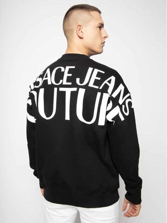 Versace Jeans Couture Versace Jeans Couture Pulóver B7GVA733 Fekete Regular Fit