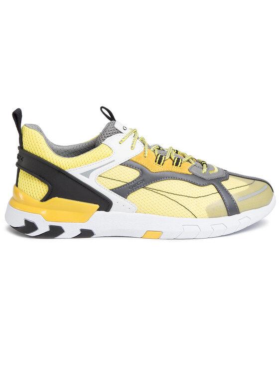 Geox Geox Sneakersy U Grecale A U028ZA 01422 C2M2G Żółty