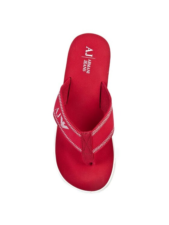 Armani Jeans Armani Jeans Flip flop V6544 42 T4 Roșu
