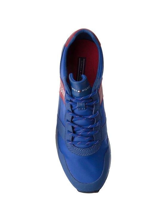 Tommy Hilfiger Tommy Hilfiger Sneakers Printed Material Mix Runner FM0FM01623 Bleu marine