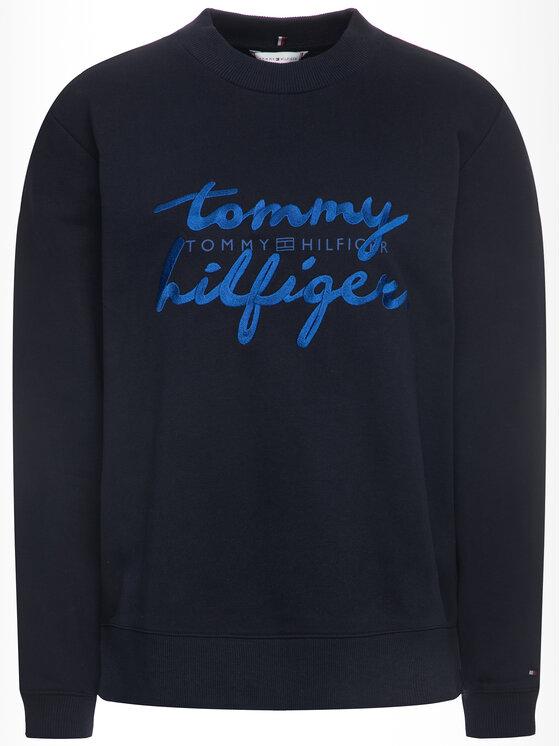 Tommy Hilfiger Tommy Hilfiger Bluza Romy WW0WW26669 Granatowy Regular Fit