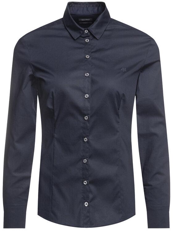 Marc O'Polo Marc O'Polo Marškiniai 907 1457 42563 Tamsiai mėlyna Slim Fit