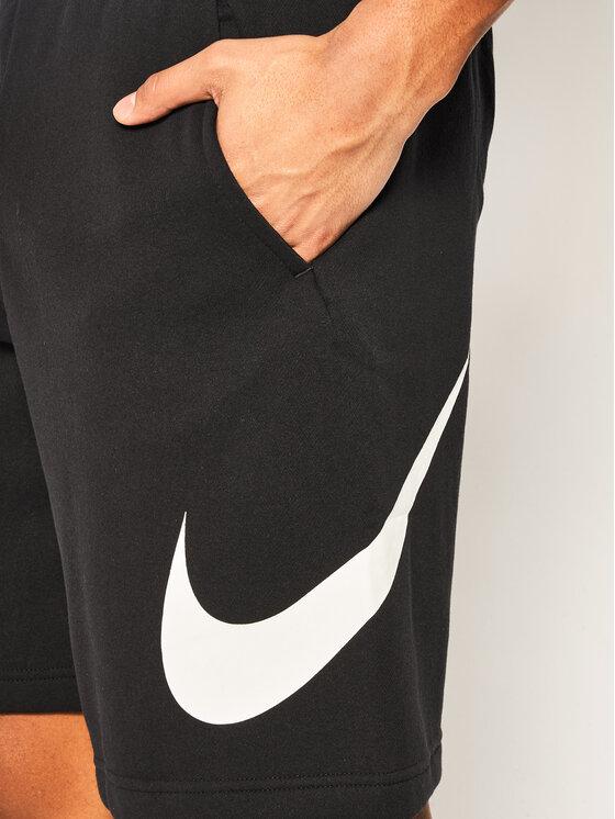 Nike Nike Szorty sportowe Club Short Bb BV2721 Czarny Standard Fit