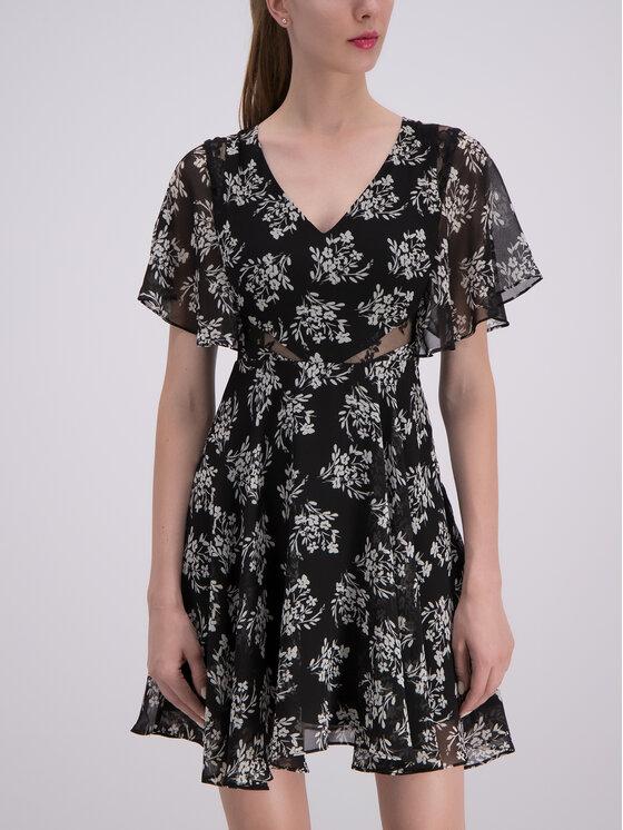 Guess Guess Φόρεμα καλοκαιρινό W93K80 W8SL0 Μαύρο Regular Fit