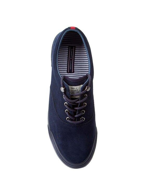 Tommy Hilfiger Tommy Hilfiger Πάνινα παπούτσια Yarmouth 1B FM0FM00661 Σκούρο μπλε