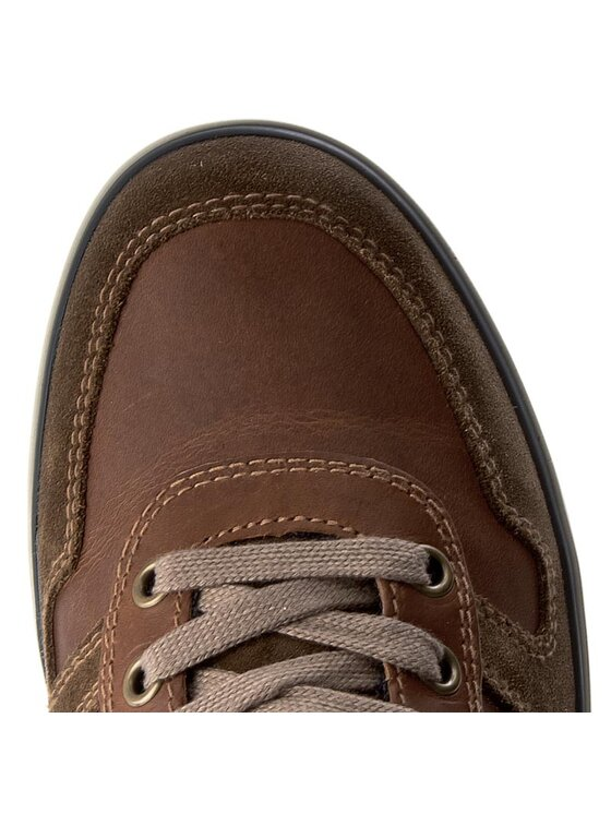 Geox Geox Sneakersy U Box C U72R3C 0FF22 C0235 Brązowy