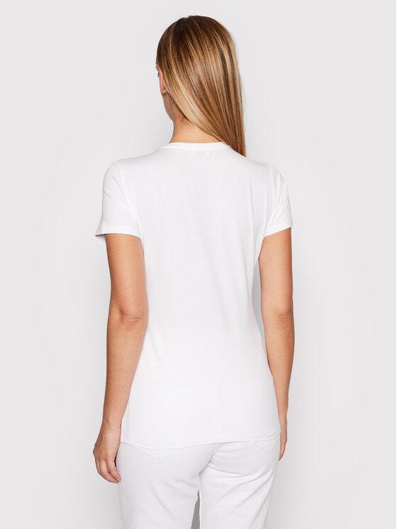 Liu Jo Liu Jo T-shirt WF1347 J5003 Bijela Regular Fit