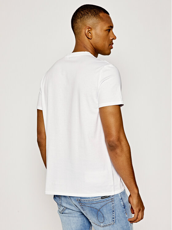 Just Cavalli Just Cavalli T-shirt S03GC0545 Bianco Regular Fit