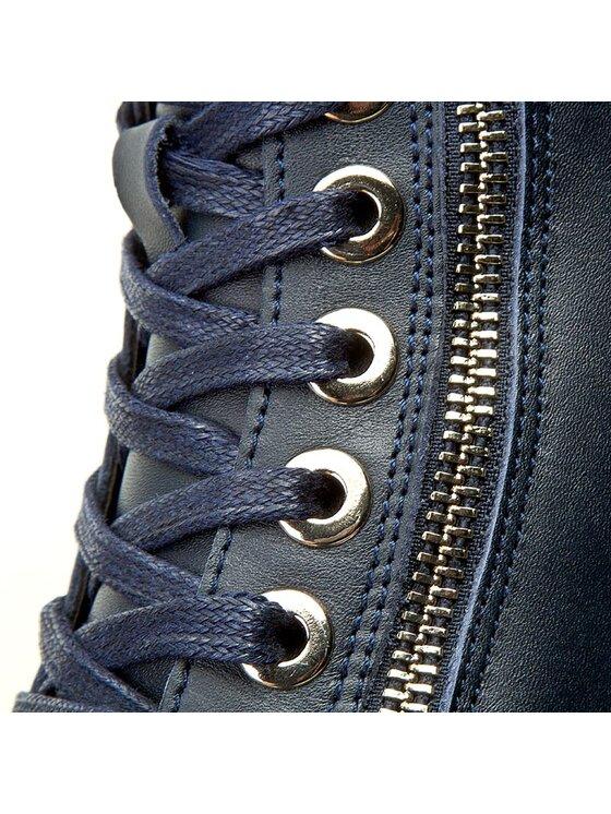 Armani Jeans Armani Jeans Sneakersy 925000 6A437 31735 Tmavomodrá
