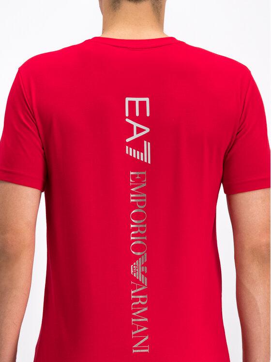 EA7 Emporio Armani EA7 Emporio Armani T-shirt 3GPT08 PJ03Z 1450 Rosso Regular Fit