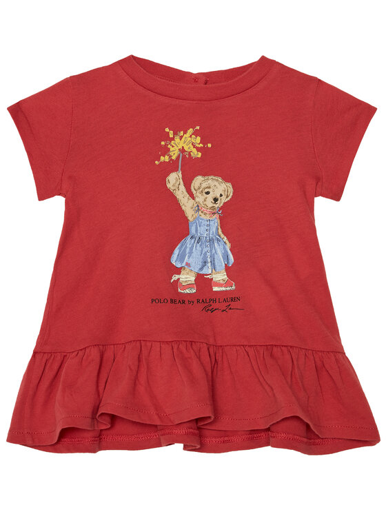 Polo Ralph Lauren Polo Ralph Lauren Φόρεμα καθημερινό Summer II 310790447001 Κόκκινο Regular Fit
