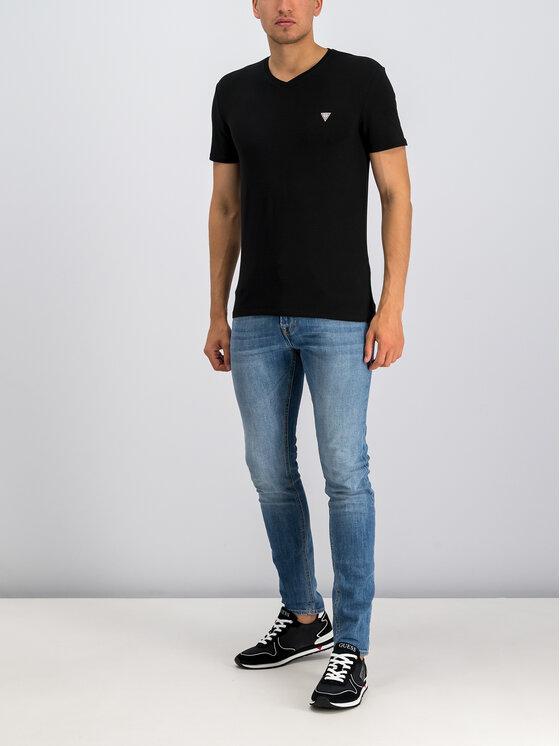 Guess Guess T-Shirt Core M94I32 J1300 Czarny Super Slim Fit