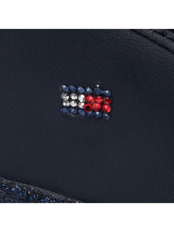 Tommy Hilfiger Tommy Hilfiger Сникърси Corporate Crystal Dress Sneaker FW0FW04296 Тъмносин
