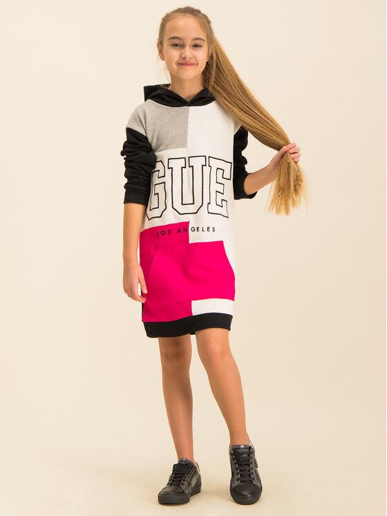 Guess Guess Každodenní šaty J01K04 K8D80 Barevná Regular Fit