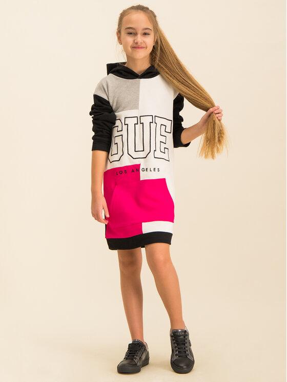 Guess Guess Sukienka codzienna J01K04 K8D80 Kolorowy Regular Fit