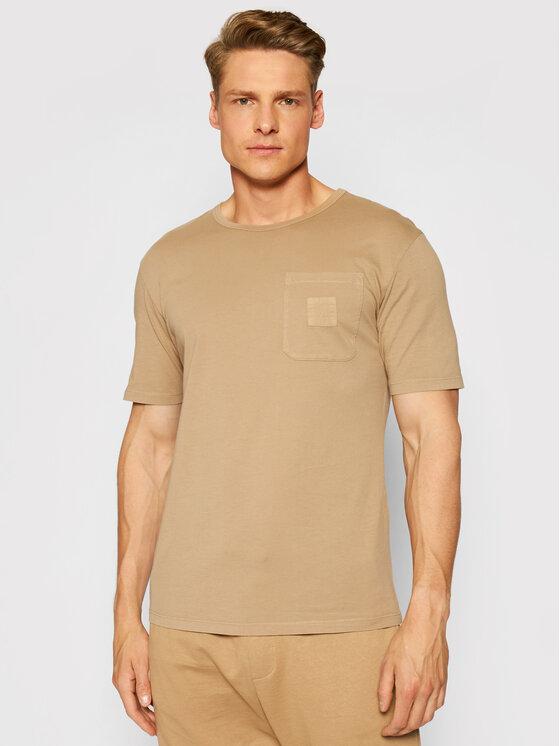 Imperial Marškinėliai TG43BCKTD Ruda Regular Fit