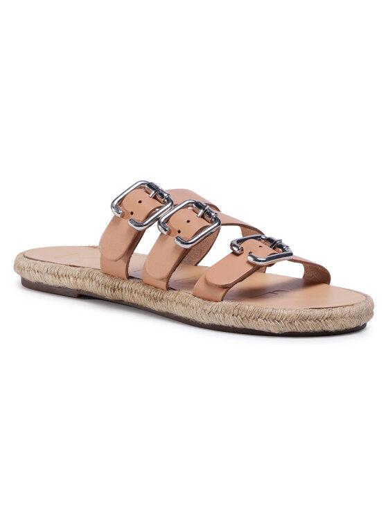 Manebi Espadrilės Leather Sandals S 2.0 Y0 Smėlio