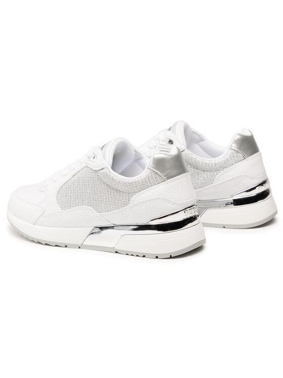 Guess Guess Sneakersy Moxea FL5MOX PEL12 Biały
