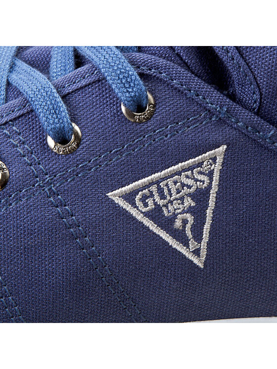 Guess Guess Sneakersy Roof FM2ROOFAB12 Niebieski