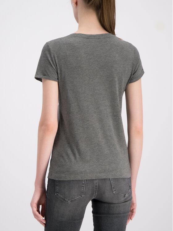 Guess Guess Marškinėliai W93I78 K19U1 Pilka Regular Fit