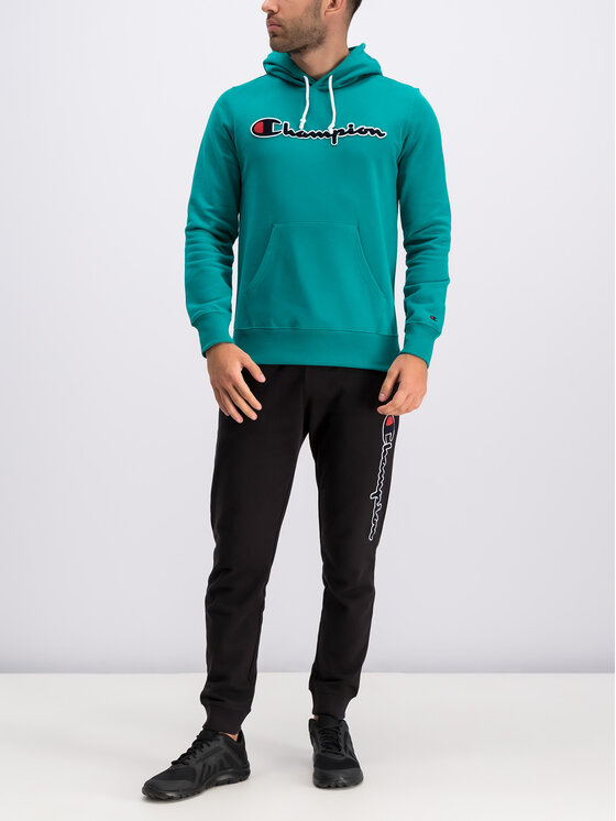 Champion Champion Bluză 212940 Verde Regular Fit