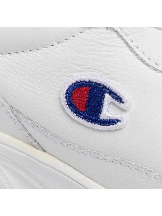 Champion Champion Sneakersy Cw-1 Leather S10627-F19-WW001 Biały
