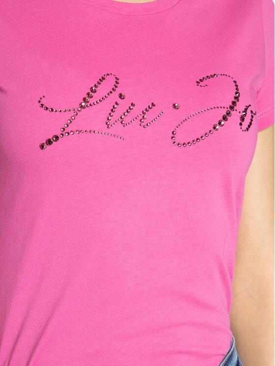 Liu Jo Liu Jo T-shirt WA0427 J5703 Rosa Regular Fit