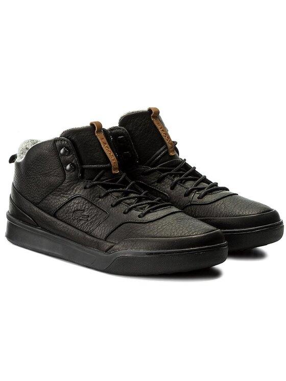 Lacoste Lacoste Sneakersy Explorateur Mid 317 1 7-34CAM001602H Čierna