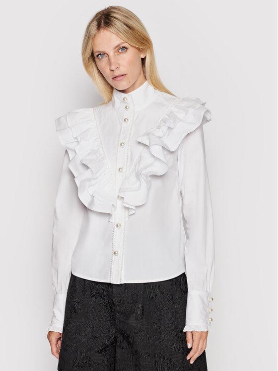 Custommade Marškiniai Bibi 212369205 Balta Regular Fit