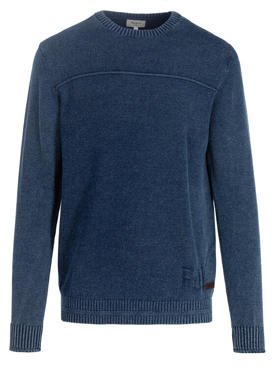 Pepe Jeans Pepe Jeans Sweter PM701936 Granatowy Regular Fit