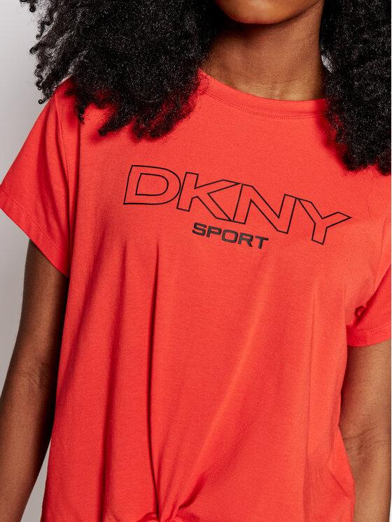 DKNY Sport DKNY Sport Bluzka DP1T8020 Czerwony Regular Fit