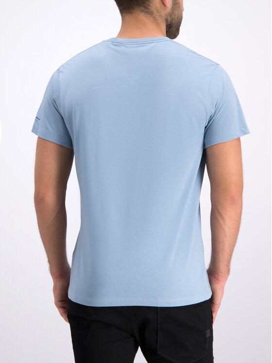 Pepe Jeans Pepe Jeans T-Shirt Dominik PM506545 Niebieski Regular Fit