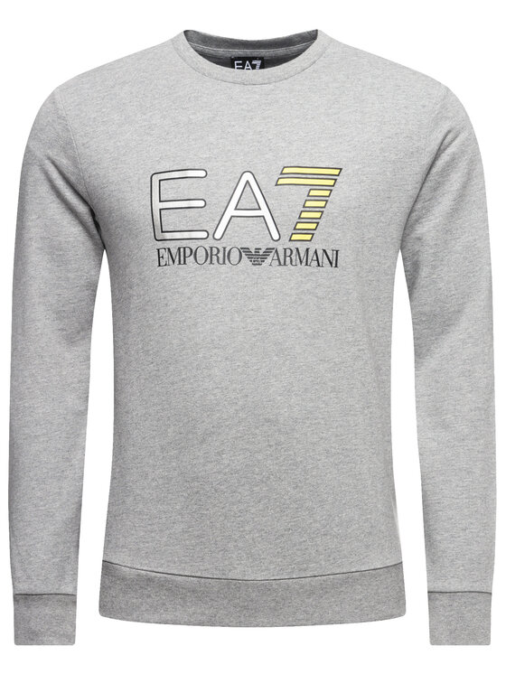 EA7 Emporio Armani EA7 Emporio Armani Bluză 3HPM22 PJ05Z 3905 Gri Regular Fit
