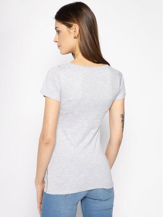 Pepe Jeans Pepe Jeans T-shirt Caieta PL504335 Grigio Regular Fit