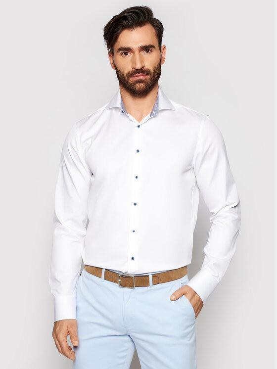 Stenströms Marškiniai 784111 2379 Balta Slim Fit