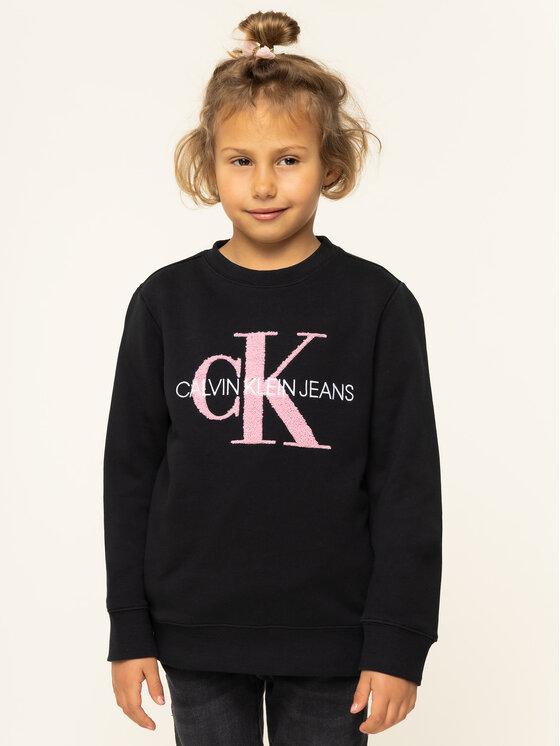 Calvin Klein Jeans Calvin Klein Jeans Bluza IG0IG00178 Czarny Regular Fit