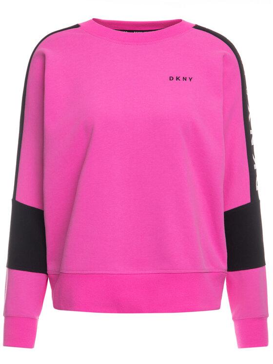 DKNY Sport DKNY Sport Bluza DP9T7064 Różowy Regular Fit