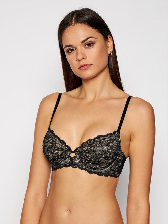 Calvin Klein Underwear Calvin Klein Underwear Σουτιέν με μπανέλα 000QF1741E Μαύρο
