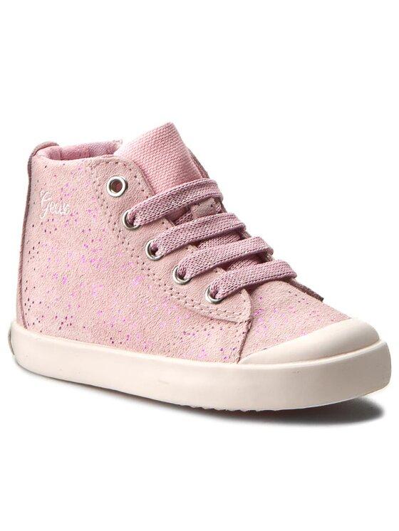 Geox Geox Auliniai batai B Kiwi G. H B72D5H 0QM22 C8010 Rožinė