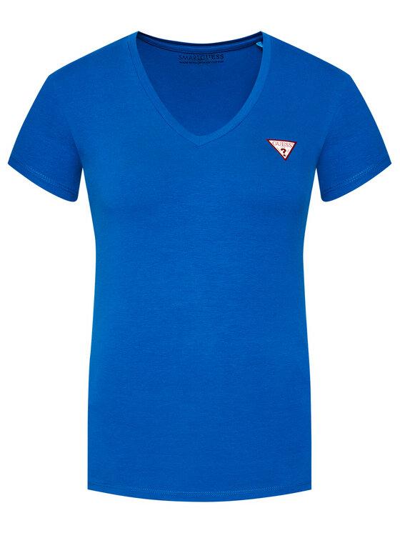 Guess Guess Póló W1GI17 J1311 Kék Slim Fit