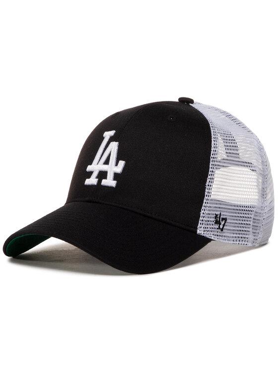 47 Brand Kepurė su snapeliu Los Angeles Dodgers '47 Mvp B-BRANS12CTP-BKC Juoda
