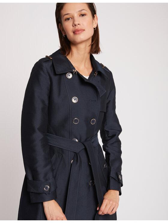 Morgan Demisezoninis paltas 201-GROOVE.N Tamsiai mėlyna Regular Fit