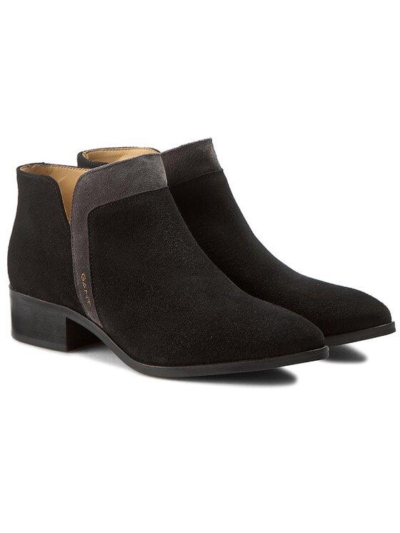 Gant Gant Členková obuv Lisa 13543431 Čierna