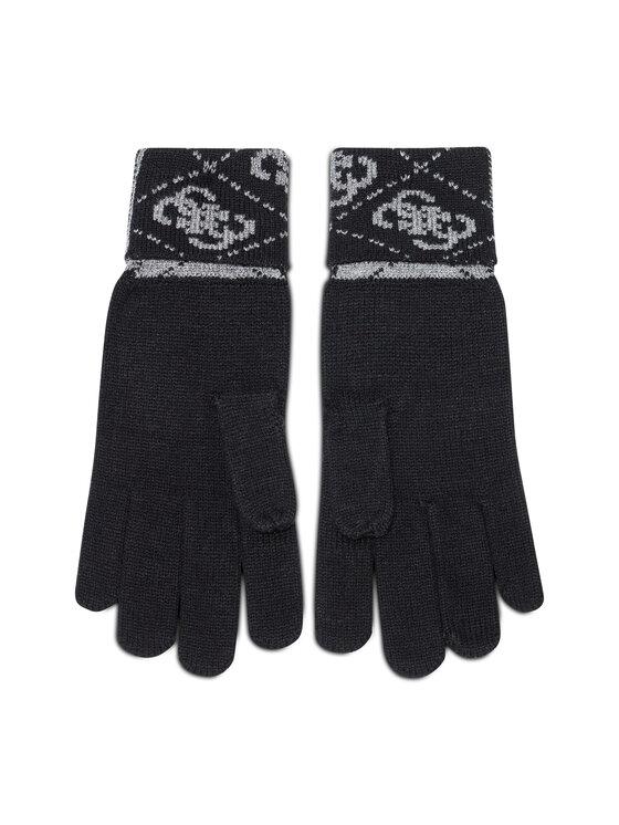 Guess Guess Rękawiczki Męskie Vezzola Gloves AM8722 WOL02 Czarny