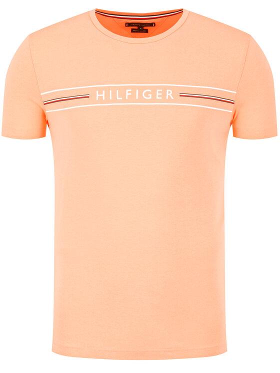Tommy Hilfiger Tommy Hilfiger T-Shirt MW0MW13328 Πορτοκαλί Regular Fit