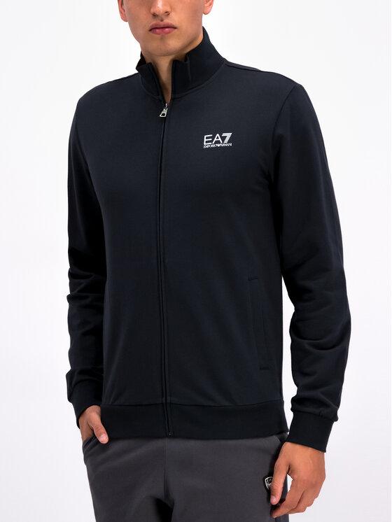 EA7 Emporio Armani EA7 Emporio Armani Bluza 3GPM54 PJ05Z 1578 Granatowy Regular Fit