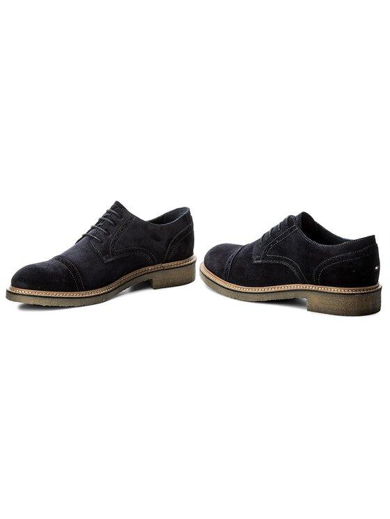 Tommy Hilfiger Tommy Hilfiger Κλειστά παπούτσια Barrett 1B FM0FM00978 Σκούρο μπλε